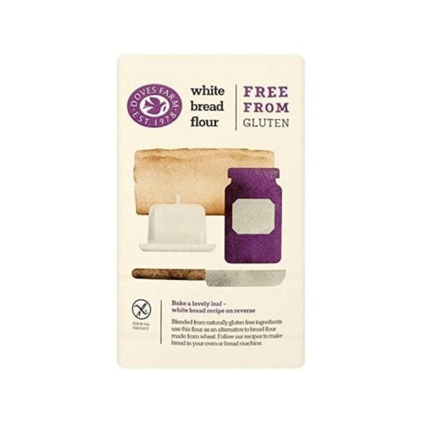 Freee by Doves Farm Gluten Free White Bread Flour (1 kg) gd