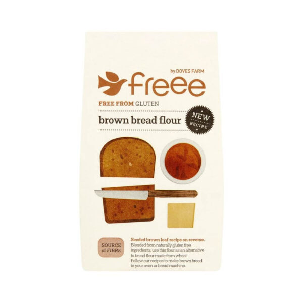 Freee by Doves Farm Gluten Free Brown Bread Flour (1 kg)